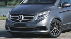 Prises d'aire de pare choc avant Mercedes Classe V Vito W447