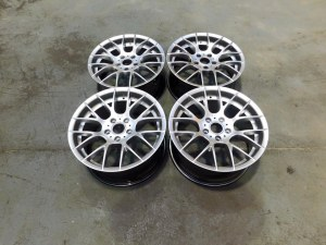 4 Jantes BMW serie 1 look 1M 8x18 et 9x18