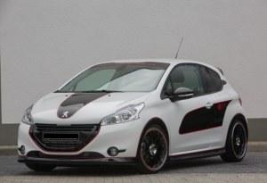 Rajout de pare choc avant Peugeot 208 MUSK