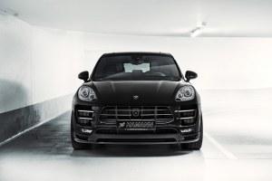 Spoiler avant HAMANN pour Porsche Macan Turbo (95B) 2014 a 2018