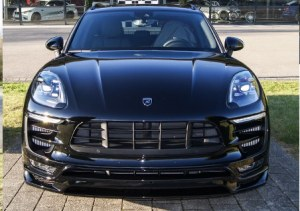 Spoiler avant HAMANN Porsche Macan pack GTS (95B)(2014-2018)