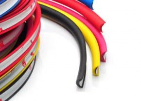 4x Protection de Jante Rimblades Flex ROUGE
