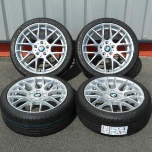 Pack jantes et pneus BMW serie 1 look 1M 7,5x18 et 8,5x18