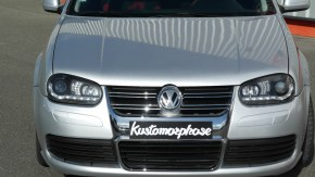 Pare-chocs avant Golf IV Look golf v-R32 en ABS