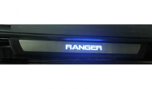seuils de porte lumineux pour FORD RANGER double cabine