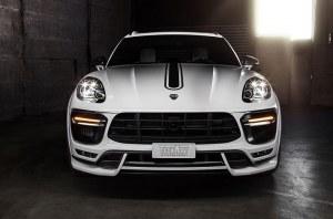 Spoiler avant TECHART Porsche Macan Turbo 2014 a 2018