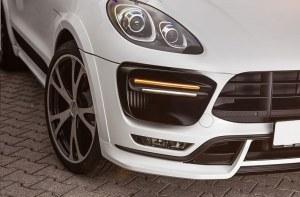 Prises d'air de pare-chocs avant TECHART Porsche Macan Turbo 2014 a 2018