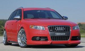 spoiler de pare avant RIEGER pour Audi A4 type 8E B7 S-Line