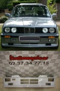 Spoiler rajout jupe de pare choc avant BMW Serie 3 E30 (82-87) M-Tech 1