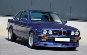 Spoiler rajout jupe de pare choc avant BMW Serie 3 E30 (82-87) Look Alpina