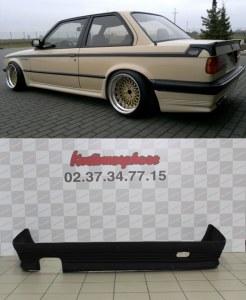 Spoiler rajout jupe de pare choc arrière BMW Serie 3 E30 (82-87) BBS