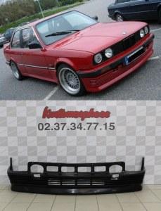 Spoiler rajout jupe de pare choc avant BMW Serie 3 E30 (82-87) BBS