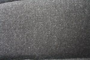 tissu uni gris sans fanion renault 5GT TURBO phase 2 largeur 150cm